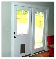 cat door for sliding glass door dog door in glass sliding door secure pet door how