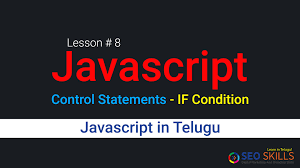 javascript in telugu control statements if condition javascript in telugu control statements if condition