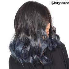 Subtle Blue Highlights 40 Fairy Like Blue Ombre Hairstyles