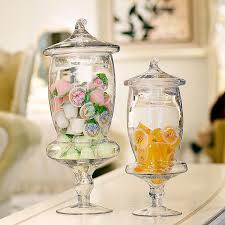 Decorative Glass Candy Jars Decorative Glass Candy Jars With Lids 90