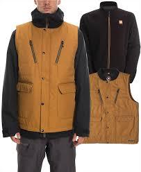 686 Smarty 4 In 1 Complete Ski Snowboard Jacket L Golden Brown