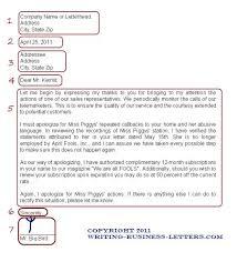 Proper proper Letter Format business letter format page