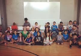 but from the beginning we knew the kids were responding positively we met every wednesday afternoon all summer initially we talked about our emotions
