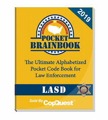 Lasd Force Options Chart Pocket Brainbook Los Angeles Sheriffs Department Edition