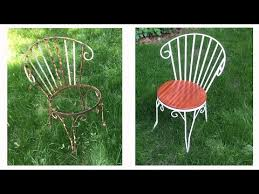 re old wrought iron chairs the