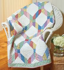 162 best Quilting with Pre-cuts images on Pinterest | Easy quilts ... & Lattice Be Scrappy Quilt - Fons & Porter Adamdwight.com