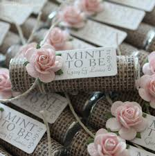 Mint Wedding Favors Set Of Mint Rolls Mint To Be Favors With Personalized Burlap Mint Green Mint Rustic Shabby Ch This Listing