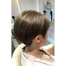 刈り上げも可愛い耳掛けショートボブ Hairmake Opsisオプシスのヘア