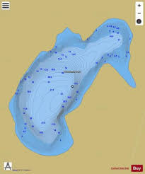 Smith Lake Depth Chart West Smith Lake Fishing Map Ca_on_west_smith_lake_on
