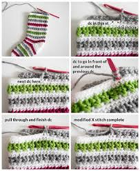 Crochet Stocking Pattern Simple Crochet Christmas Stocking Pattern Dabbles Babbles