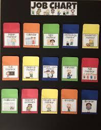 Easy Classroom Job Chart Use Popsicle Sticks Classroom