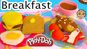 fast food maker playdoh food breakfast maker molds playset play doh plasticine toy
