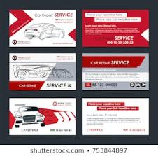 Auto Repair Business Card Stock Vectors Images Vector Art