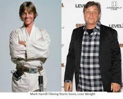 mark hamill weight loss progress. Simple Hamill Mark Hamill 1977 And 2013 On Hamill Weight Loss Progress L