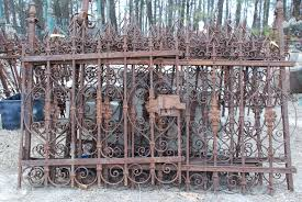 Antique Wrought Iron Fencing  Charlie\u0027s Antiques