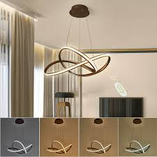 50cm led ceiling light wire pendant