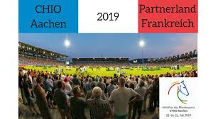 Das weltfest des pferdesports, chio aachen, soll vom 10. Chio Aachen 2019 Partnerland Frankreich Institut Francais D Allemagne