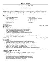 Job Winning Resume Examples Resume Examples For First Time Job ...