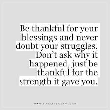 Thankful Quotes In Hardships