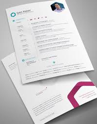 Indesign Resume Template Fascinating 60 Sets Of Free InDesign CVResume Templates Free InDesign