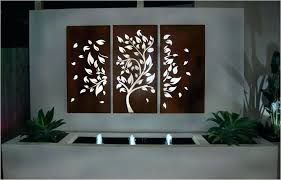 outdoor wall art metal large outdoor metal wall art contemporary outdoor wall decor lovely white outdoor