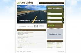 Event Website Template Extraordinary Job Website Templates Free Job Portal Templates PHPJabbers