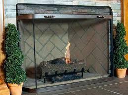 custom fireplace screens spark guard screens