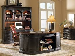 elegant home office accessories. Office Elegant Home Decor Ideas With Oval Wooden Accessories O
