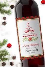 Amazon Com Christmas Pregnancy Announcement Wine Label