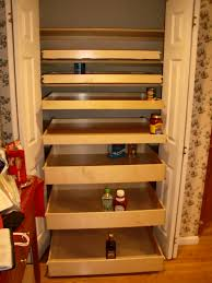 Roll Out Pantry Cabinet Pleasant Pantry Closet Design Roselawnlutheran