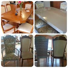 diy ugly dining table refinish and reupholster i refinished this set of tables and chairs that i received for free with annie sloan chalk paint and wax