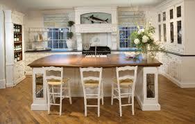 cottage kitchen furniture. Gorgeous Kitchen Decoration Using Habersham Cabinetry : Harbersham Cottage Design Ideas With Distressed Cabinet Furniture