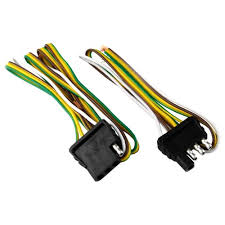 attwood� 4 way flat wiring harness kit for vehicles and trailers ford trailer plug wiring harness attwood� 4 way flat wiring harness kit for vehicles and trailers view number