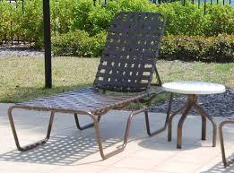 commercial vinyl strap pool furniture st maarten cross weave strap chaise lounge
