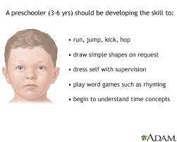 3 Year Old Milestones Chart Preschooler Development