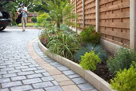 Small Picture Perfect Garden Border Stones Trim Ideas With Rock Edging By Amie N