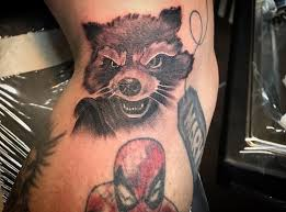 Marvel Tattoo Photo By Milena168 On Instagram Rocket