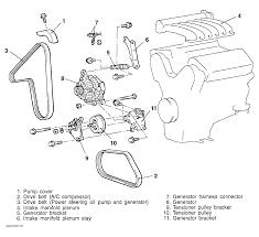 1999 chrysler sebring serpentine belt routing and timing belt diagrams
