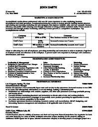 Sales Resume Sample Pdf Professional Resume Templates