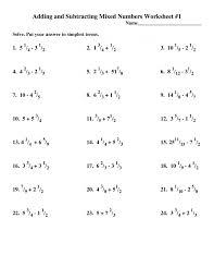 Adding Fractions With Unlike Denominators Worksheet 931317 ~ Koogra
