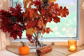 Image Interior Easy Fall Decor Using Natural Inexpensive Grocery Store Supplies Wwwtheyummylifecom The Yummy Life Easy Fall Decor