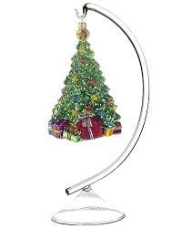 Family Tree Ornament Display Stand New Solid Glass Display Stand Small Personalized Gift