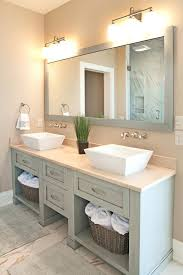 beach style bathroom. Beach Bathroom Cabinets Superb In Style With Above Counter Sink Next To Painted Vanity