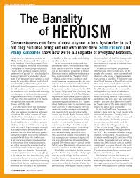 the banality of heroism pdf available