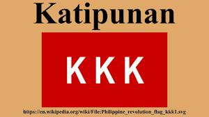 Image result for Katipunan