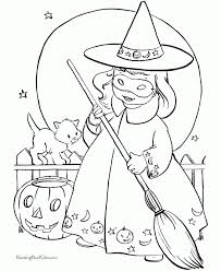 Small Picture Halloween Coloring Pages Online Halloween Coloring Pages Online
