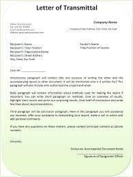 Transmittal Template Excel Letter Of Form Format For Report