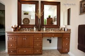 one week bathrooms. bathroom by one week bath. image: bathrooms