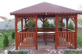 Foisoare din lemn, garduri din lemn, terase din lemn
