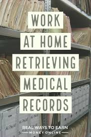 Chart Abstraction Jobs From Home Work At Home Doing Medical Records Retrieval For Parameds